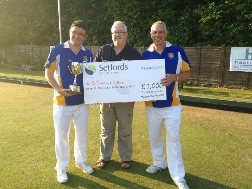Setfords Two Woods Trophy Winners