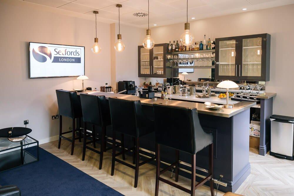 Setfords London's executive lounge